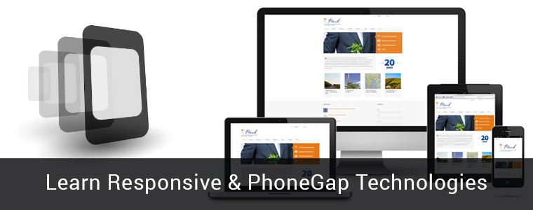 Responsive+Phonegap technologies part of PHP Training