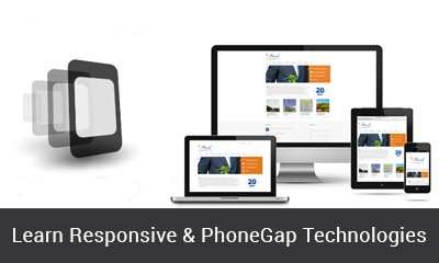 Responsive, Phonegap as a part of PHP Training